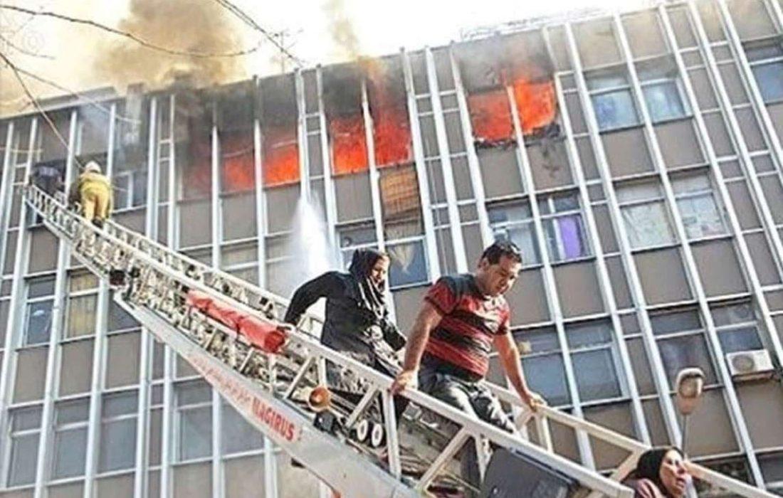 نیاز مبرم سازمان آتش نشانی به نردبان هیدرولیکی
