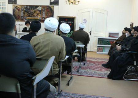 دیدار فقیه برجسته حوزه علمیه قم از بنیاد فرهنگ جعفری /گزارش تصویری