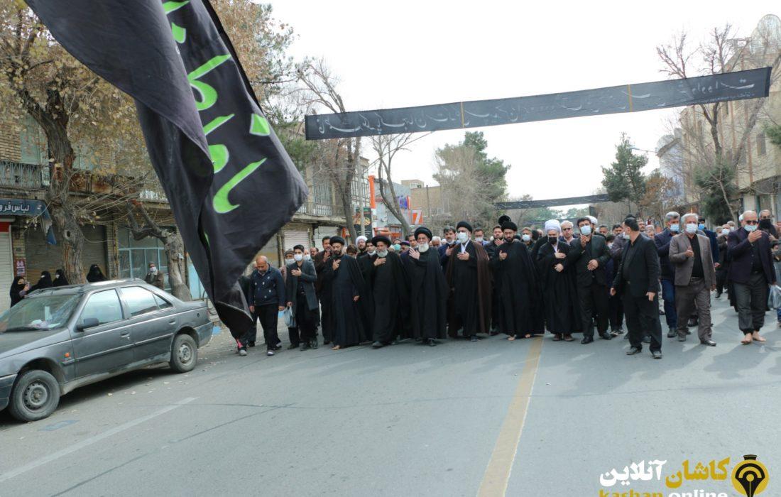 گزارش تصویری آیین سوگواری سالروز شهادت حضرت فاطمه زهرا سلام الله علیها در کاشان