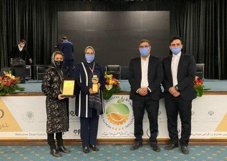 باریج اسانس و کسب تندیس زرینِ چهارمین جشنواره ملی صنعت سلامت محور ایران