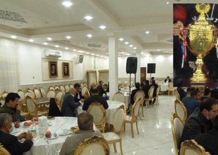 در شب تجلیل و بالارفتن جام انجام شد؛روحیه بخشی به تیم مدعی جدی لیگ برتر فوتسال استان