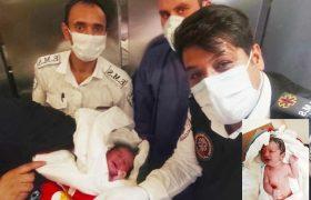 سلامِ نوزاد کاشانی به زندگی در خودرو سواری