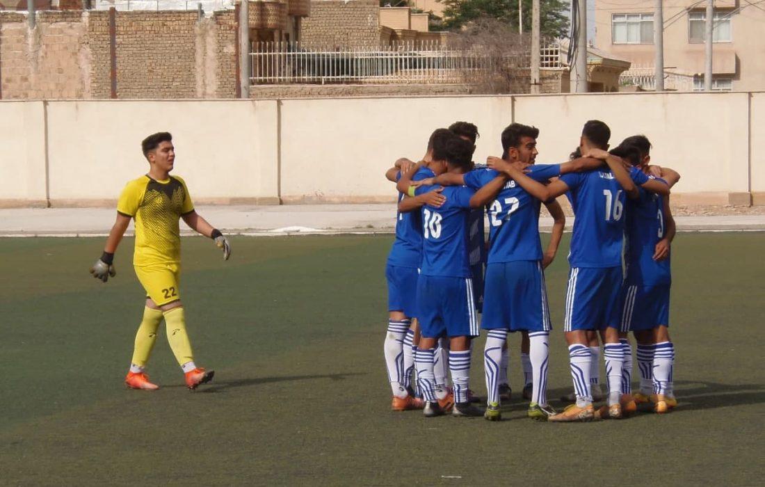 ماندگاری نماینده آبی پوش کاشان در لیگ یک جوانان فوتبال کشور +گزارش تصویری