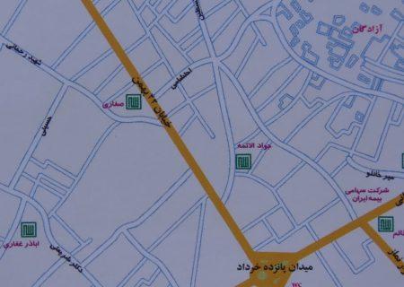 با دو طرفه شدن خیابان ۲۲ بهمن مخالفت شد