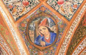 """کاشان؛ نقاشی های کم نظیر خانه تاریخی """"حکیمباشی""""+گزارش تصویری"""
